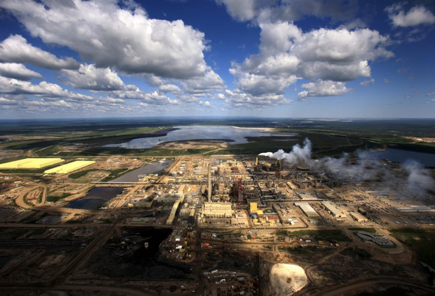 Syncrude Plant in Alberta Tar Sands